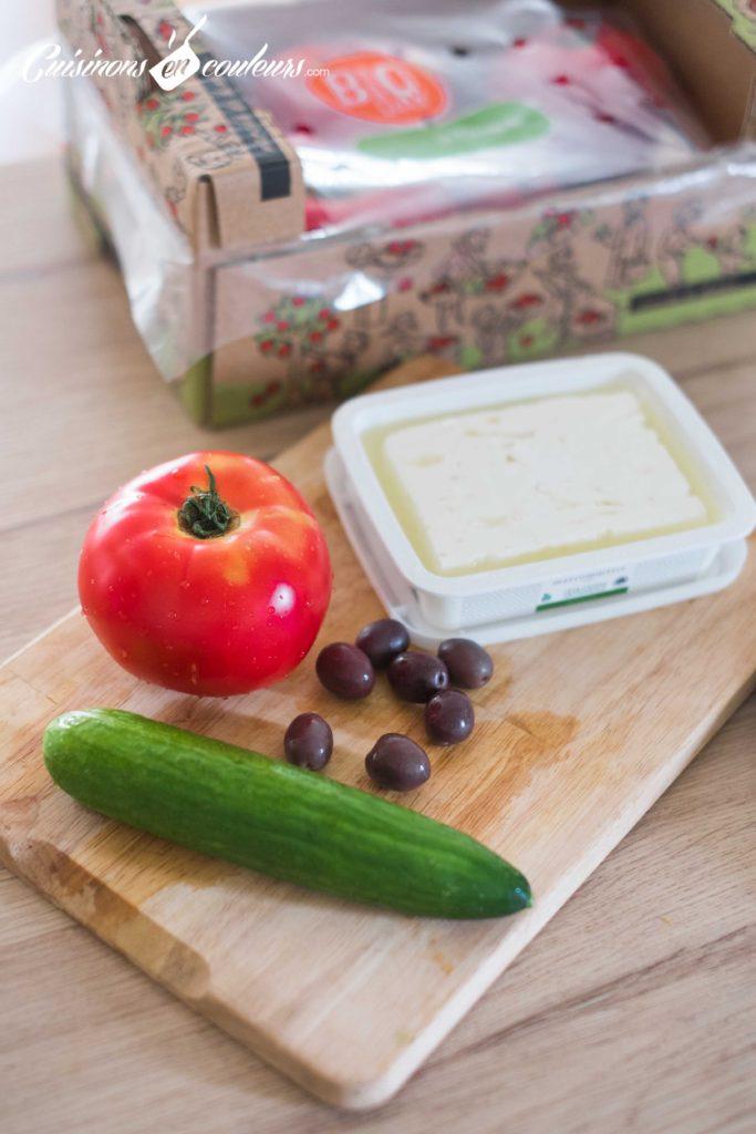 Salade-grecque-683x1024 - Salade grecque à la feta
