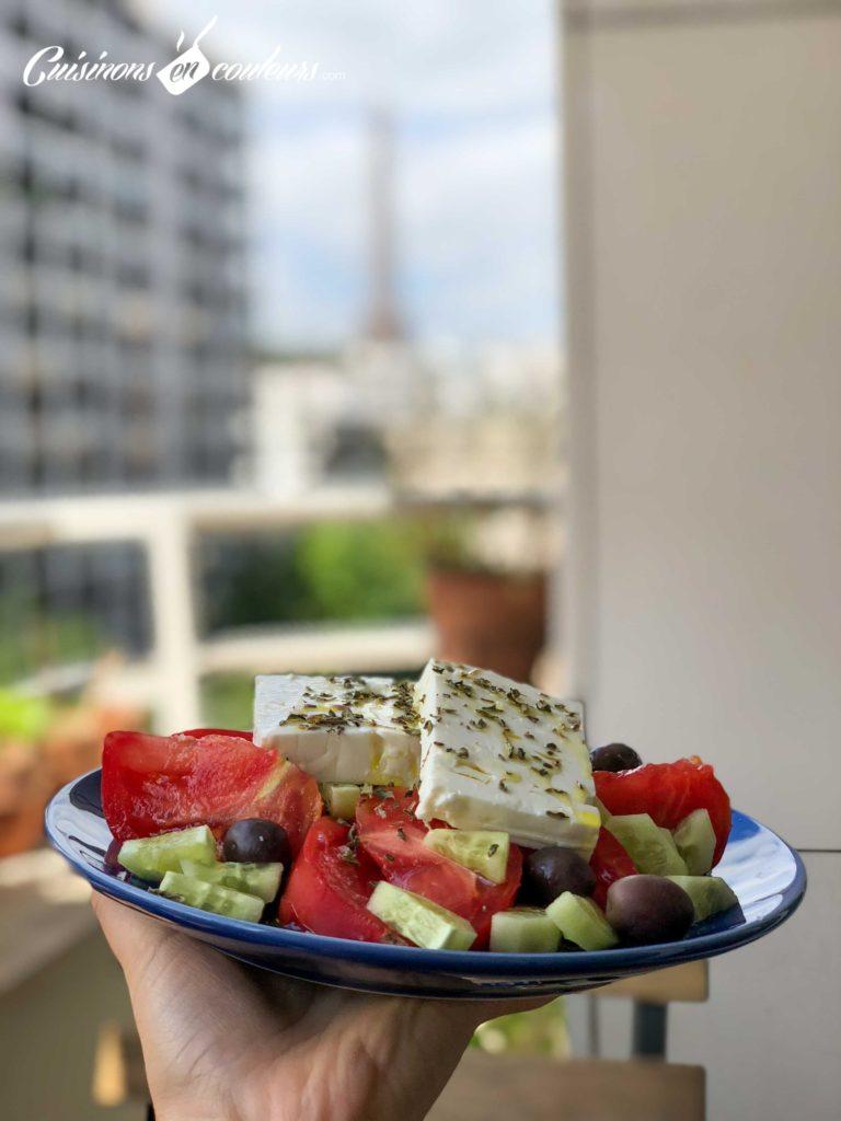 Salade-grecque-9-768x1024 - Salade grecque à la feta