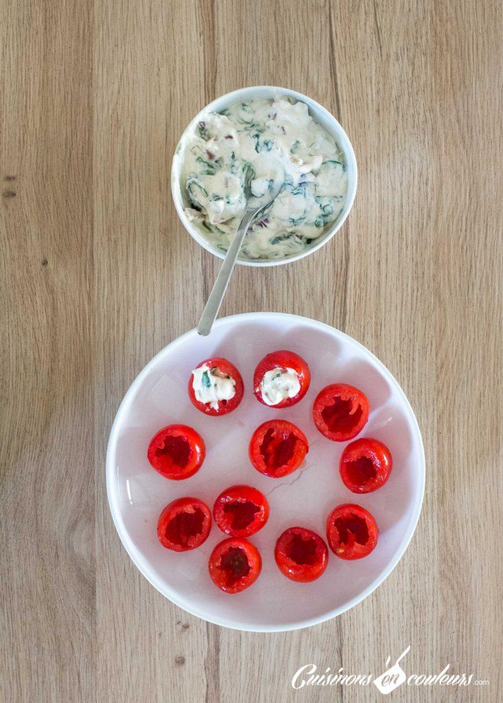 Tomates-farcies-au-fromage-frais-4-733x1024 - Tomates farcies au fromage frais, aux épinards et au parmesan