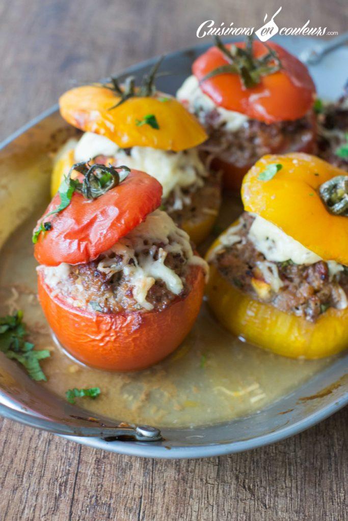 tomates-farcies-2-683x1024 - Tomates farcies à la viande hachée
