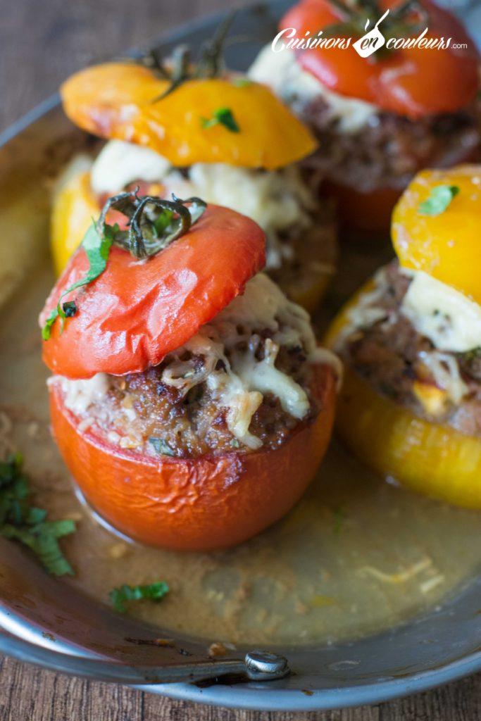 tomates-farcies-3-683x1024 - Tomates farcies à la viande hachée