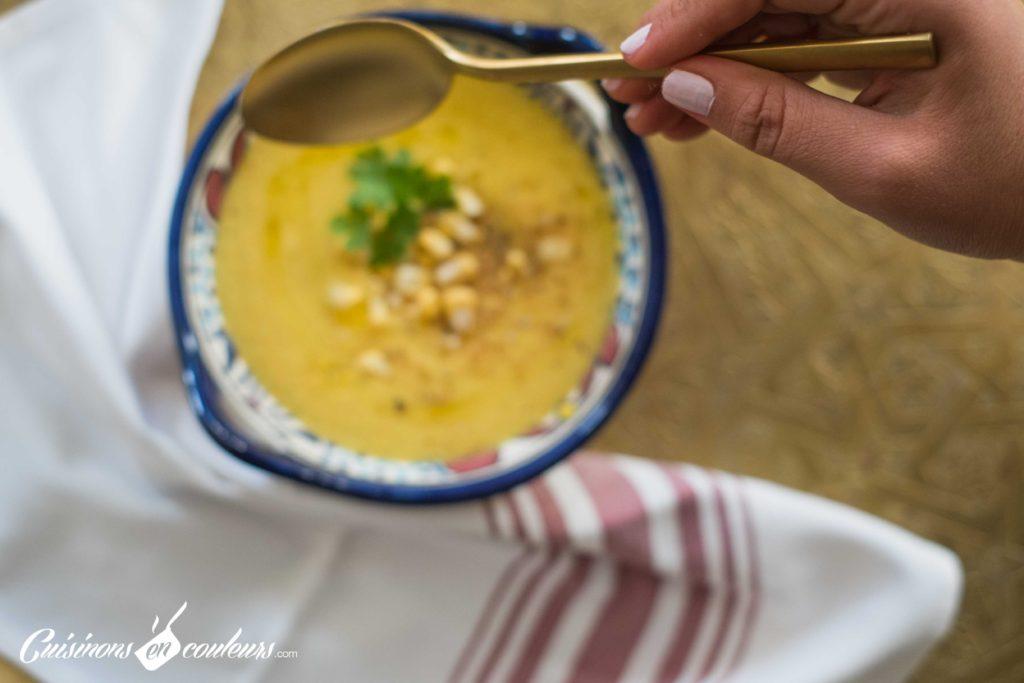 soupe-mais-4-1024x683 - Velouté de maïs