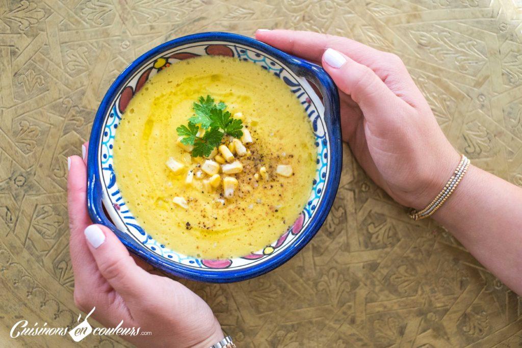 soupe-mais-5-1024x683 - Velouté de maïs