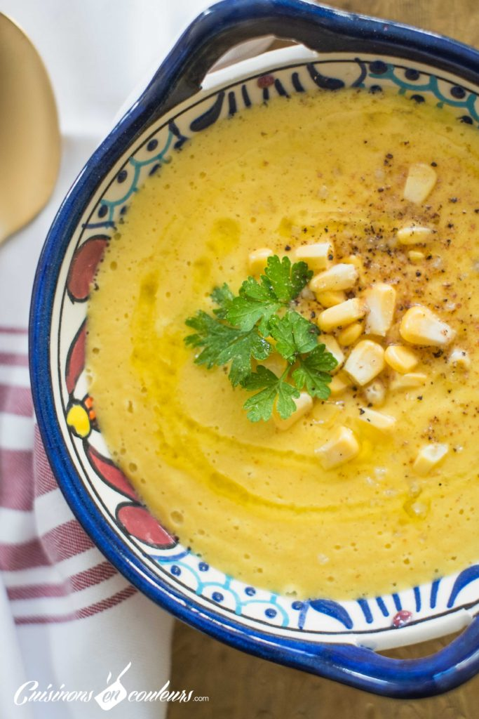 soupe-mais-683x1024 - Velouté de maïs