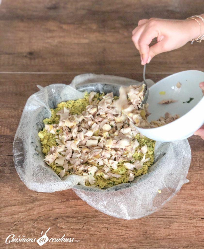 pastilla-au-poulet-20-1-842x1024 - Pastilla au poulet et aux amandes