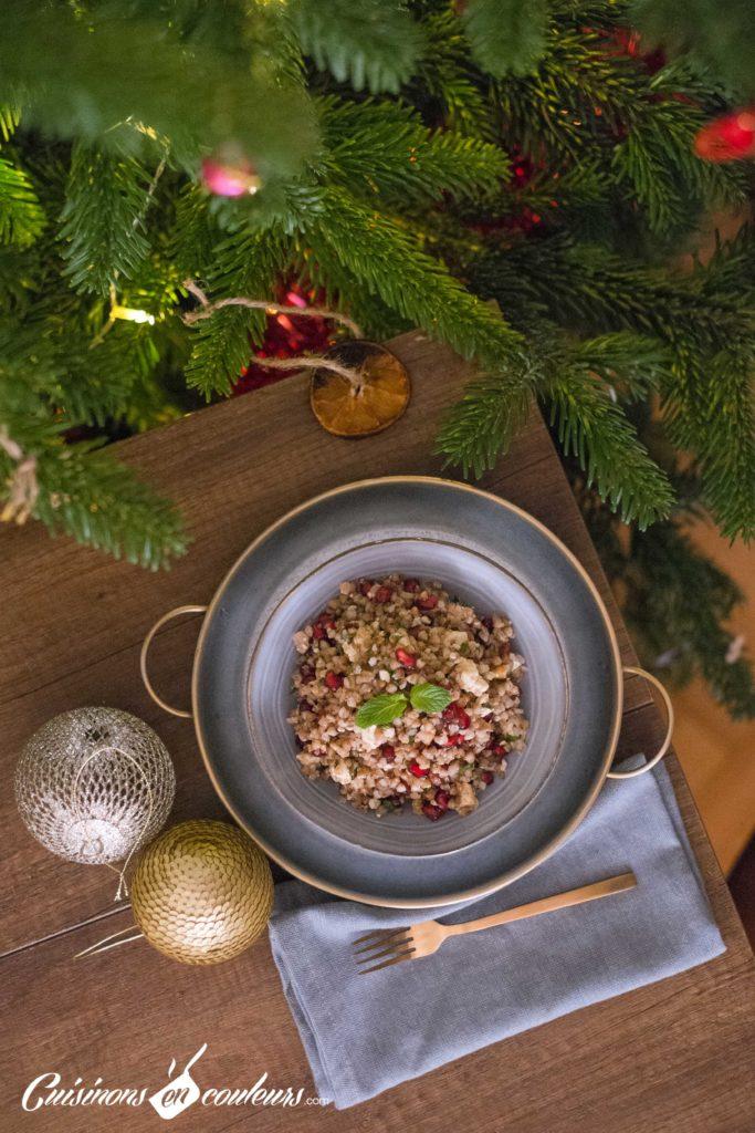 Taboule-de-sarrasin-4-683x1024 - Salade de sarrasin grillé à la feta, grenade et menthe