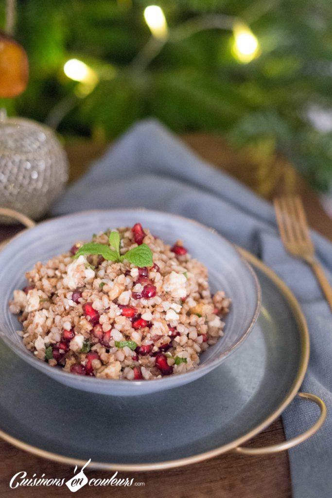 Taboule-de-sarrasin-6-683x1024 - Salade de sarrasin grillé à la feta, grenade et menthe