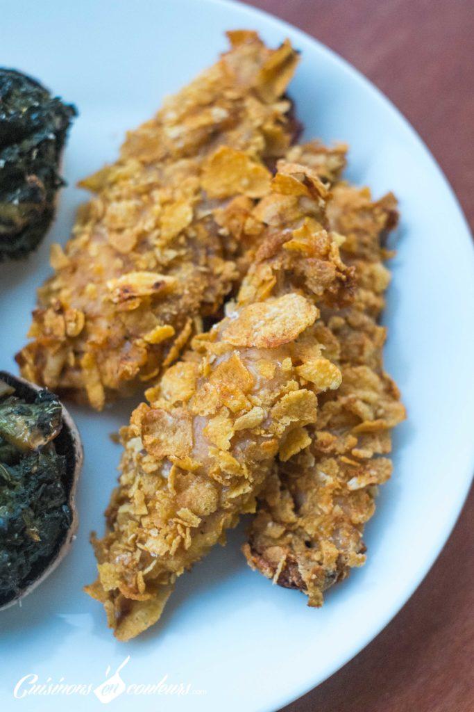 Aiguillettes-de-poulet-pane-5-683x1024 - Aiguillettes de poulet pané... au four !