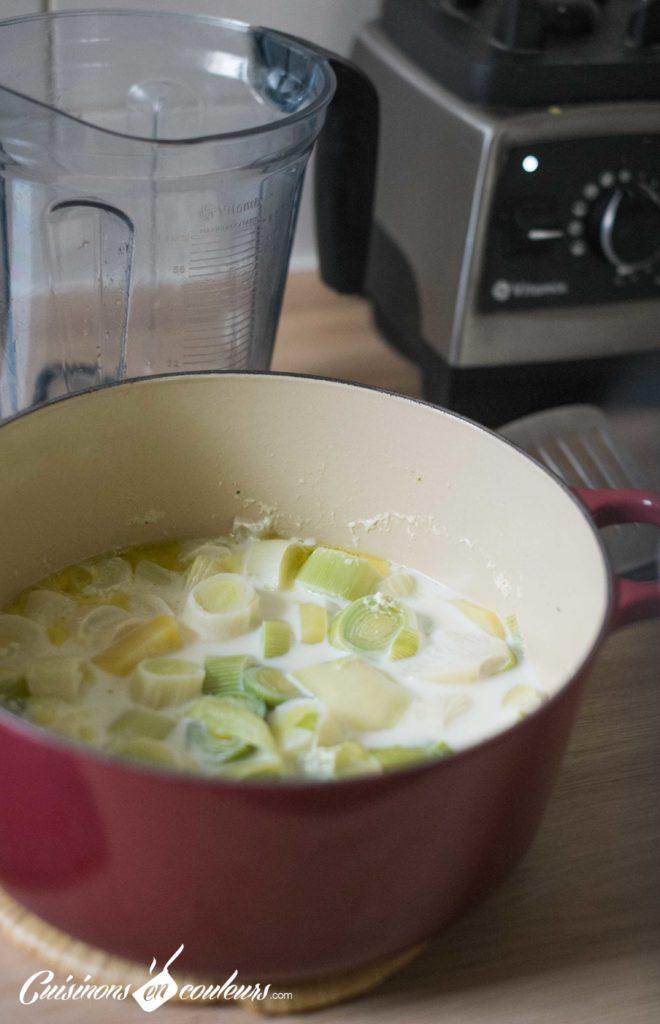 Veloute-poireaux-6-660x1024 - Velouté de poireaux au fromage aux fines herbes