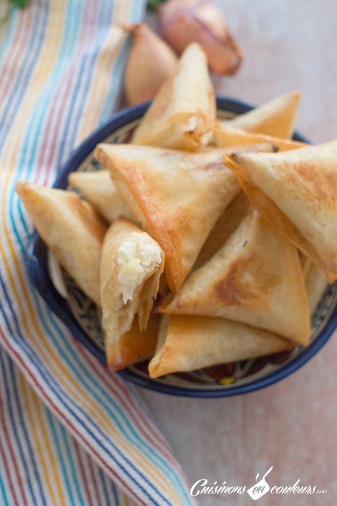 Briouates-fromage-oignons-6-683x1024 - Plus de 35 idées salées pour Ramadan