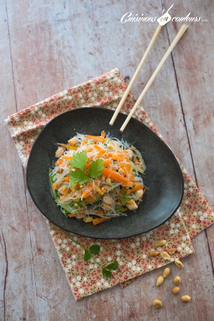 Salade-crevettes-vermicelles-2-683x1024 - Salade de crevettes et vermicelles