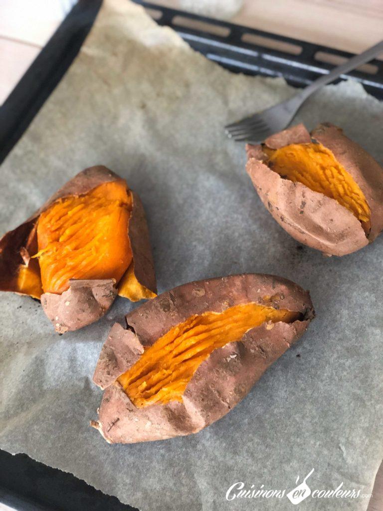 patate-douce-5-768x1024 - Patates douces rôties, épinards et pignons de pin
