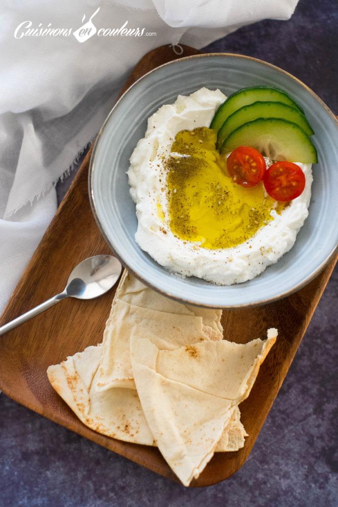 Labne-683x1024 - Labné, fromage libanais