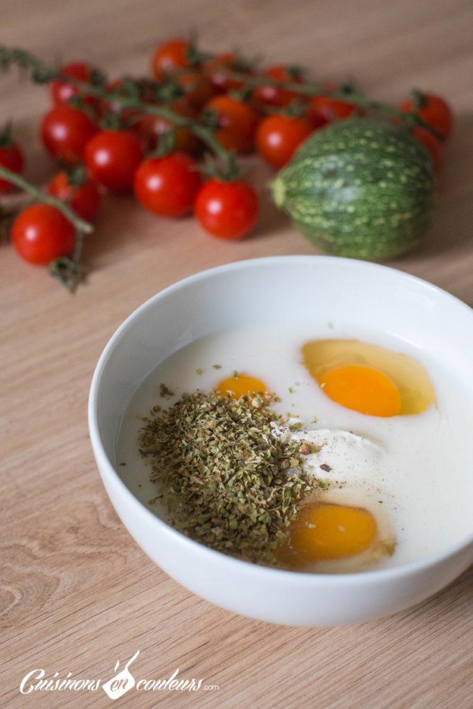 Quiche-tomates-3-683x1024 - Quiche aux tomates cerises, courgette et fromage de chèvre