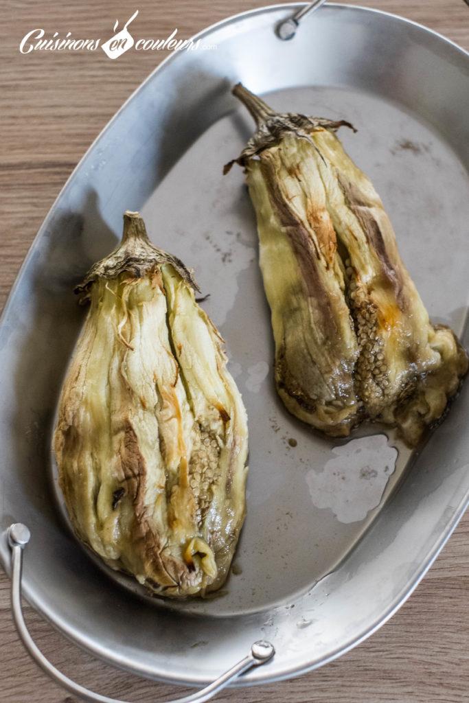 aubergines-roties-tahine-3-683x1024 - Aubergines rôties, sauce au tahiné