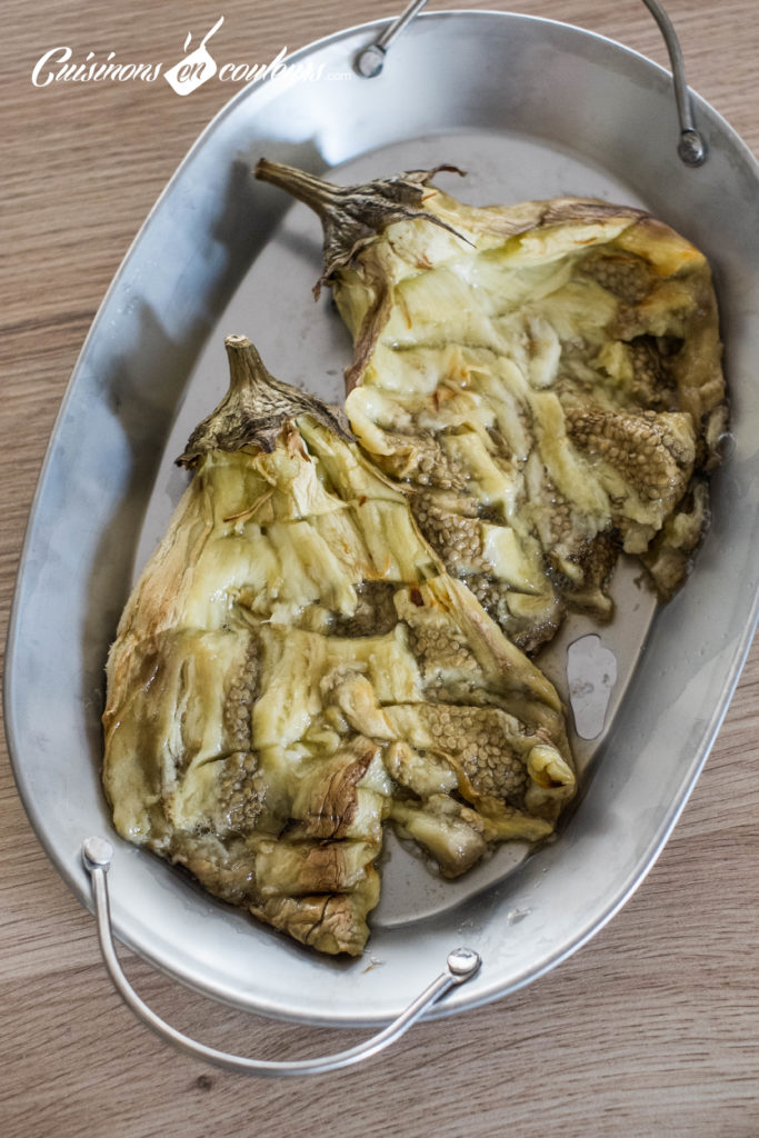 aubergines-roties-tahine-4-683x1024 - Aubergines rôties, sauce au tahiné
