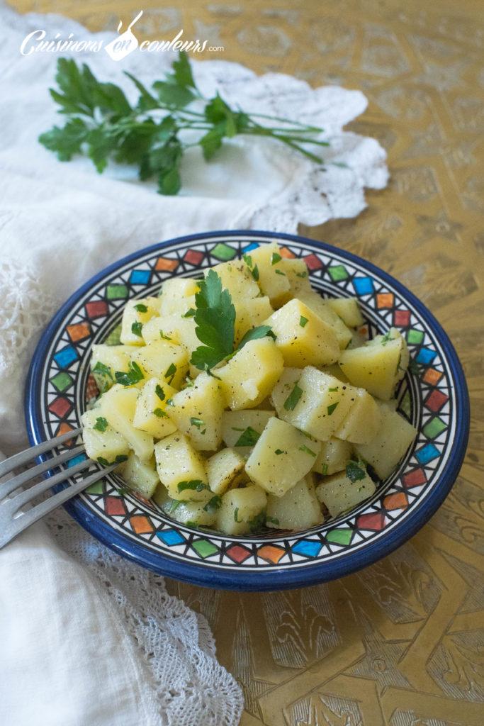 salade-pomme-de-terre-3-683x1024 - Salade de pommes de terre à la marocaine