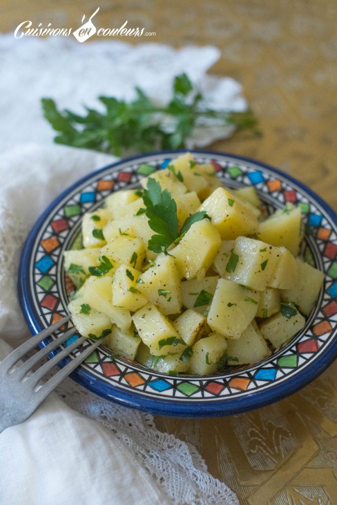 salade-pomme-de-terre-5-683x1024 - Salade de pommes de terre à la marocaine