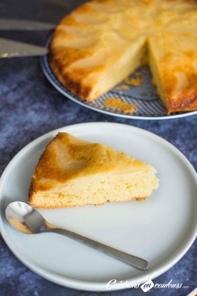 gateau-renverse-poire-8-683x1024 - Gâteau renversé aux poires