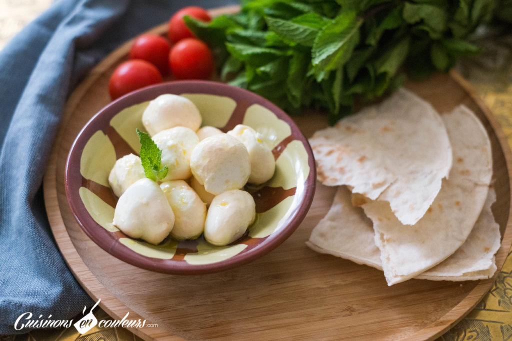 Billes-labné-1024x683 - Billes de Labné, billes de fromage libanais fait maison