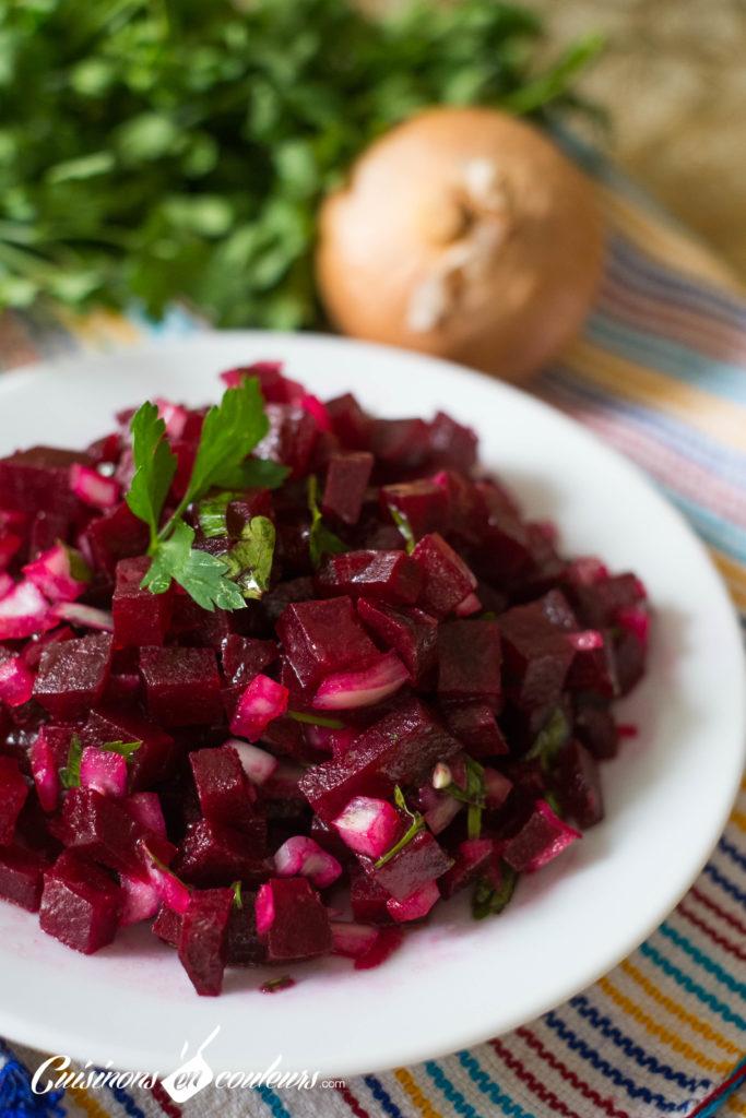 Salade-de-betterave-2-683x1024 - Top 15 des salades marocaines