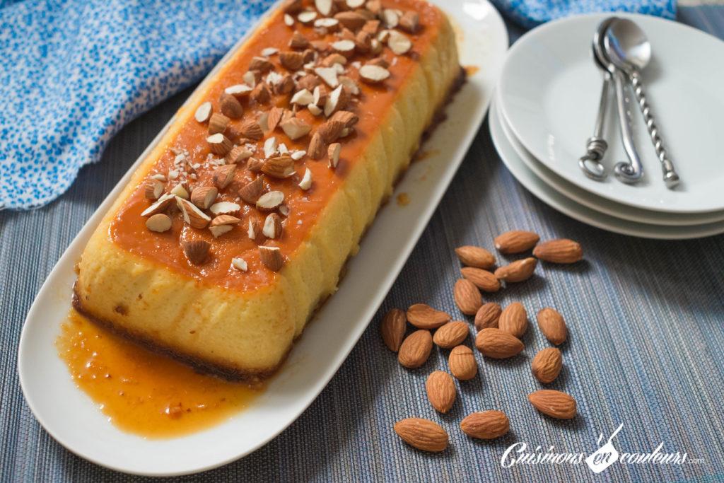 creme-caramel-2-1024x683 - Crème caramel aux amandes