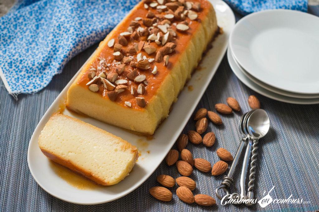 creme-caramel-3-1024x683 - Crème caramel aux amandes
