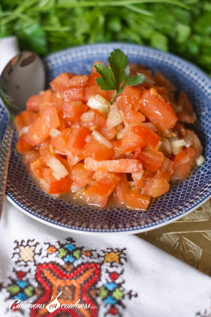 salade-de-tomate-marocaine-683x1024 - Salade marocaine aux tomates et oignon