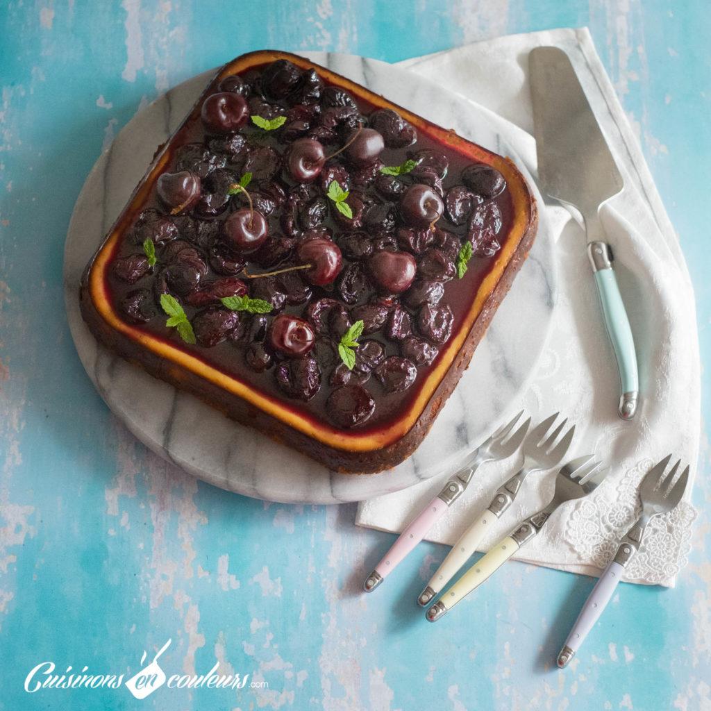 Cheesecake-aux-cerises-1024x1024 - Cheesecake aux cerises