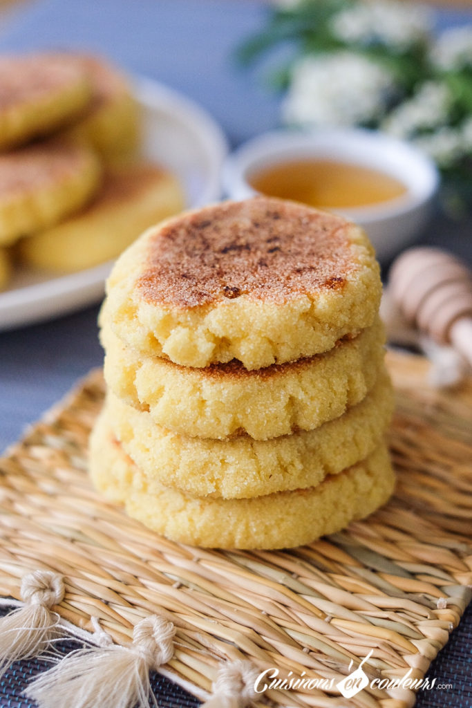 harcha-683x1024 - Harcha, LA recette simplifiée de la galette marocaine