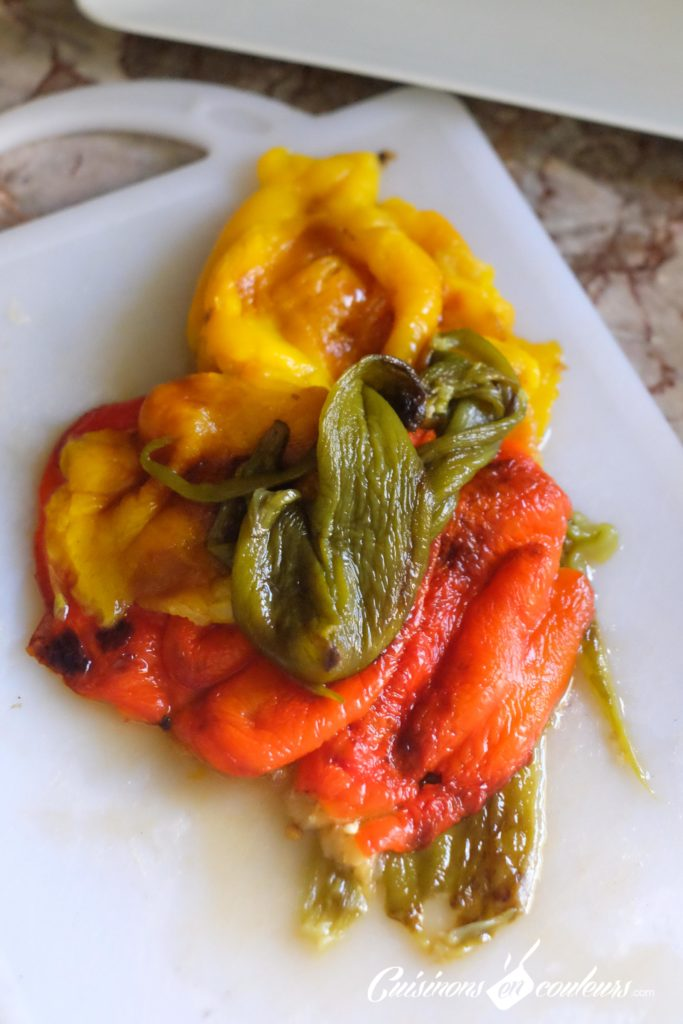 salade-de-poivrons-3-683x1024 - Salade de poivrons à l'ail et au cumin
