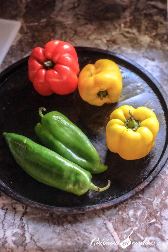 salade-de-poivrons-683x1024 - Salade de poivrons à l'ail et au cumin