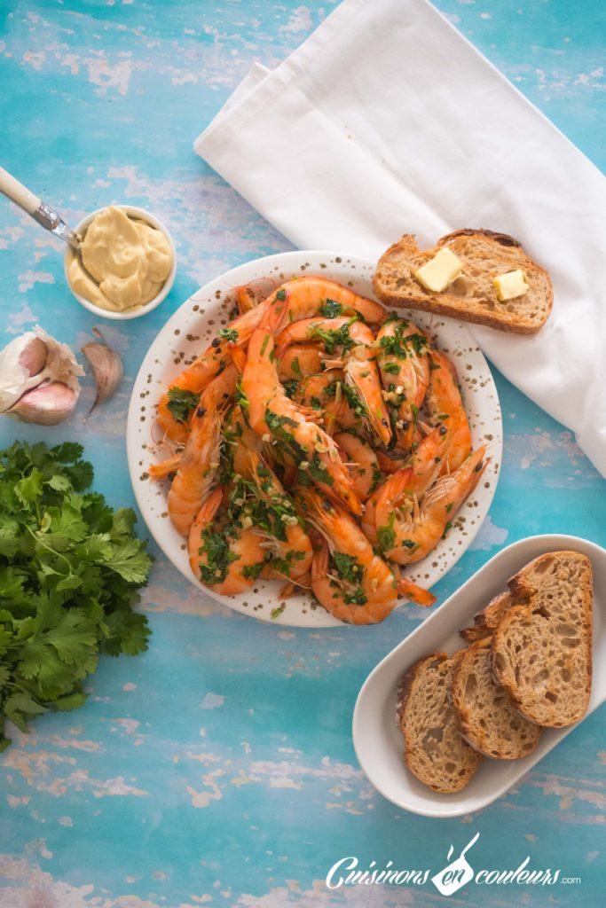 crevettes-a-lail-683x1024 - Crevettes sautées à l'ail