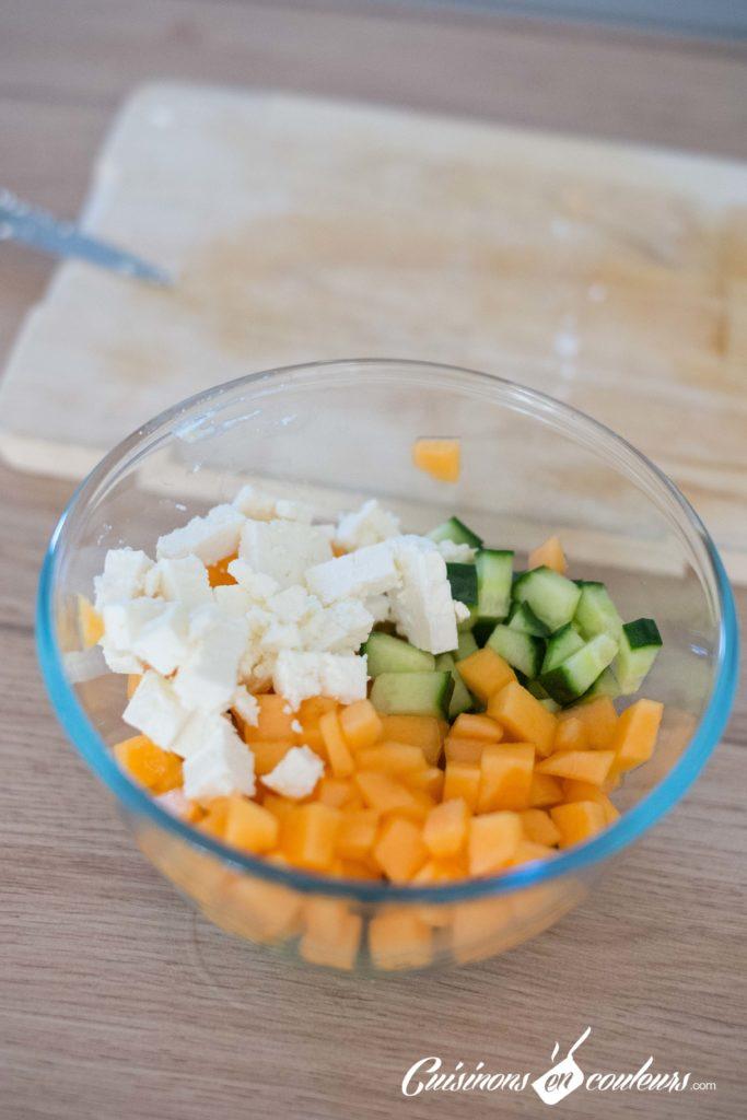 salade-melon-feta-1-683x1024 - Salade de melon à la feta