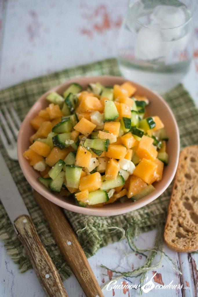 salade-melon-feta-2-683x1024 - Salade de melon à la feta