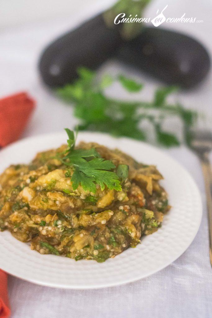 aubergines-mchermlines-5-683x1024 - Top 15 des salades marocaines