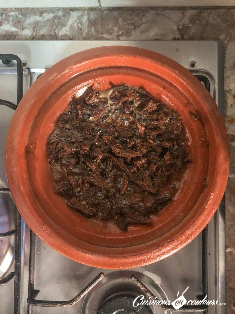 bid-bel-khlii-3-768x1024 - Bid bel khlii, tajine de viande séchée aux oeufs