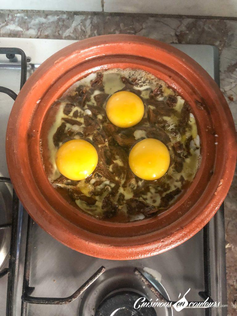 bid-bel-khlii-7-768x1024 - Bid bel khlii, tajine de viande séchée aux oeufs