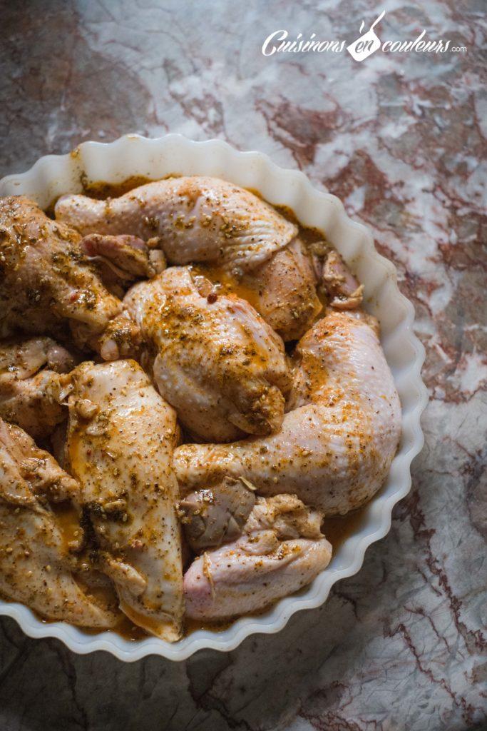 morceaux-de-poulet-au-four-3-683x1024 - Morceaux de poulet aux épices au four