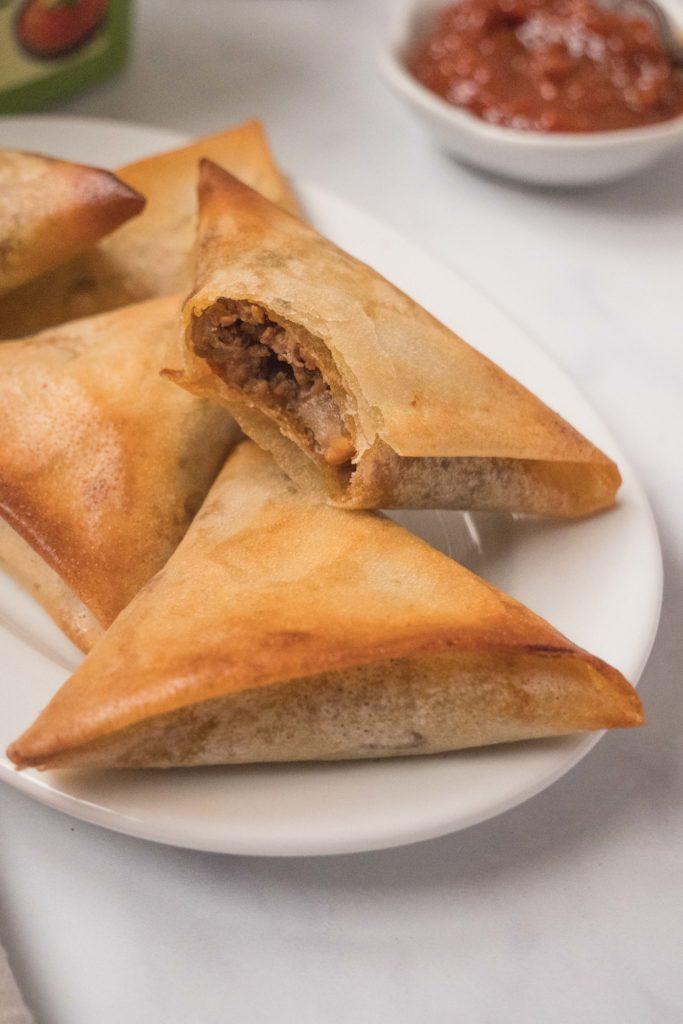 Briouates-viande-hachee-ssamjang-3-683x1024 - Briouates à la viande hachée et à la sauce Ssamjang