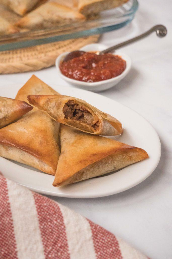 Briouates-viande-hachee-ssamjang-5-683x1024 - Briouates à la viande hachée et à la sauce Ssamjang