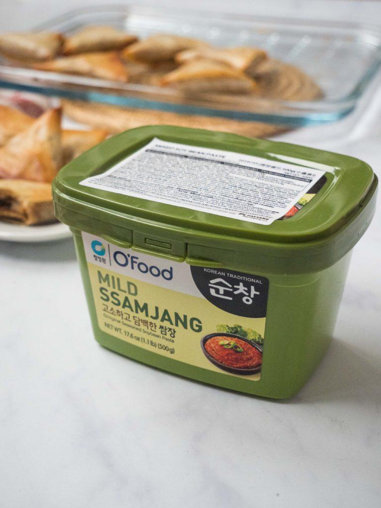 Briouates-viande-hachee-ssamjang-7-768x1024 - Briouates à la viande hachée et à la sauce Ssamjang