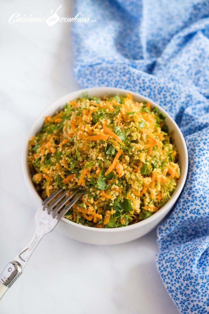 Taboulé-aux-carottes-2-683x1024 - Salade de couscous aux carottes et aux herbes