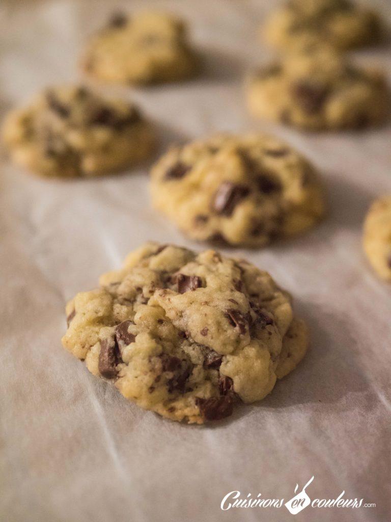 Cookies-3-768x1024 - Cookies aux pépites de chocolat façon Levain Bakery