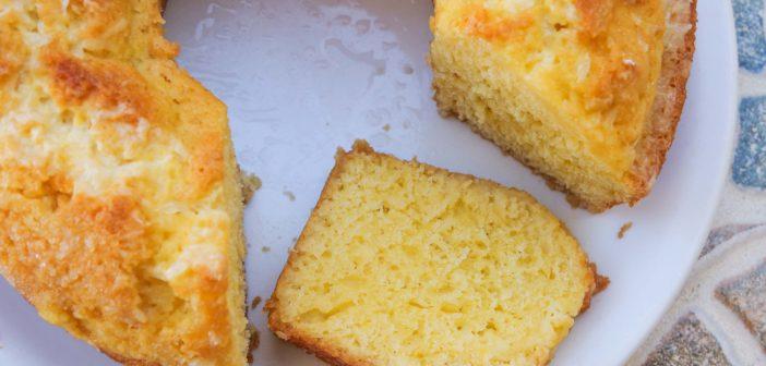 Cake facile au citron à faire avec les enfants