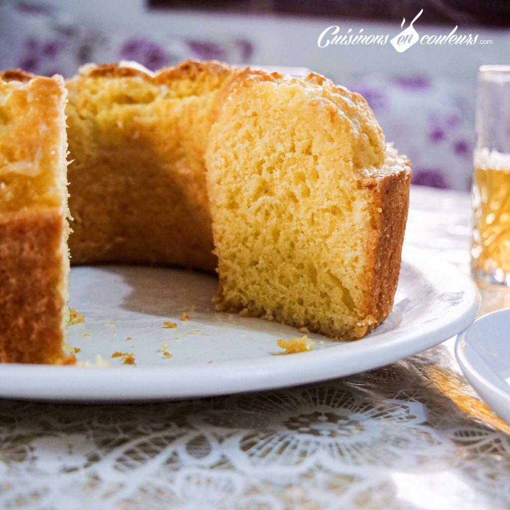 Cake Facile Au Citron A Faire Avec Les Enfants Cuisinons En Couleurs