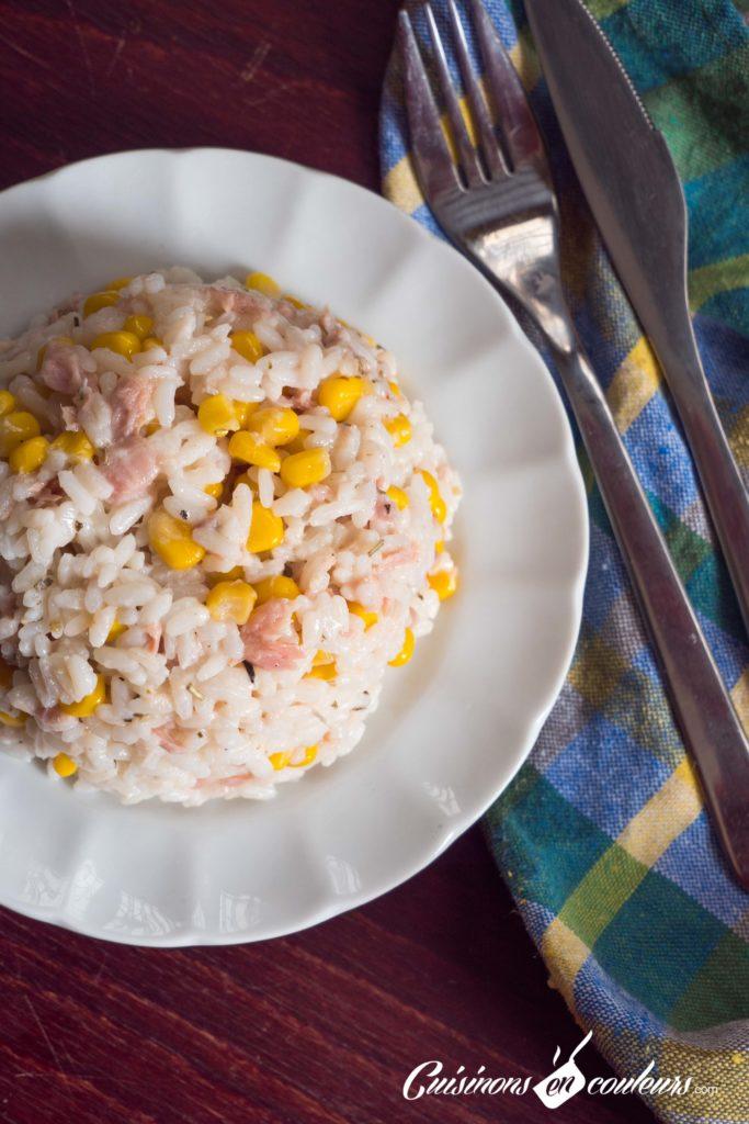 Salade-de-riz-thon-et-mais-5-683x1024 - Top 15 des salades marocaines