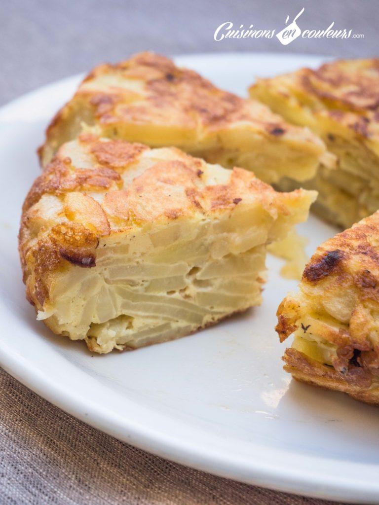 tortilla-7-768x1024 - Tortilla de pommes de terre SANS friture
