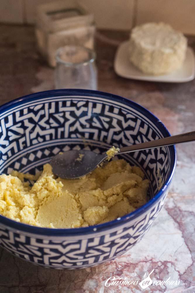 Harcha-au-boursin-3 - Harcha salée farcie au Boursin ail et fines herbes
