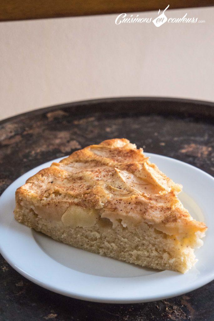 gateau-aux-pommes-5-683x1024 - Gâteau aux pommes TRÈS FACILE
